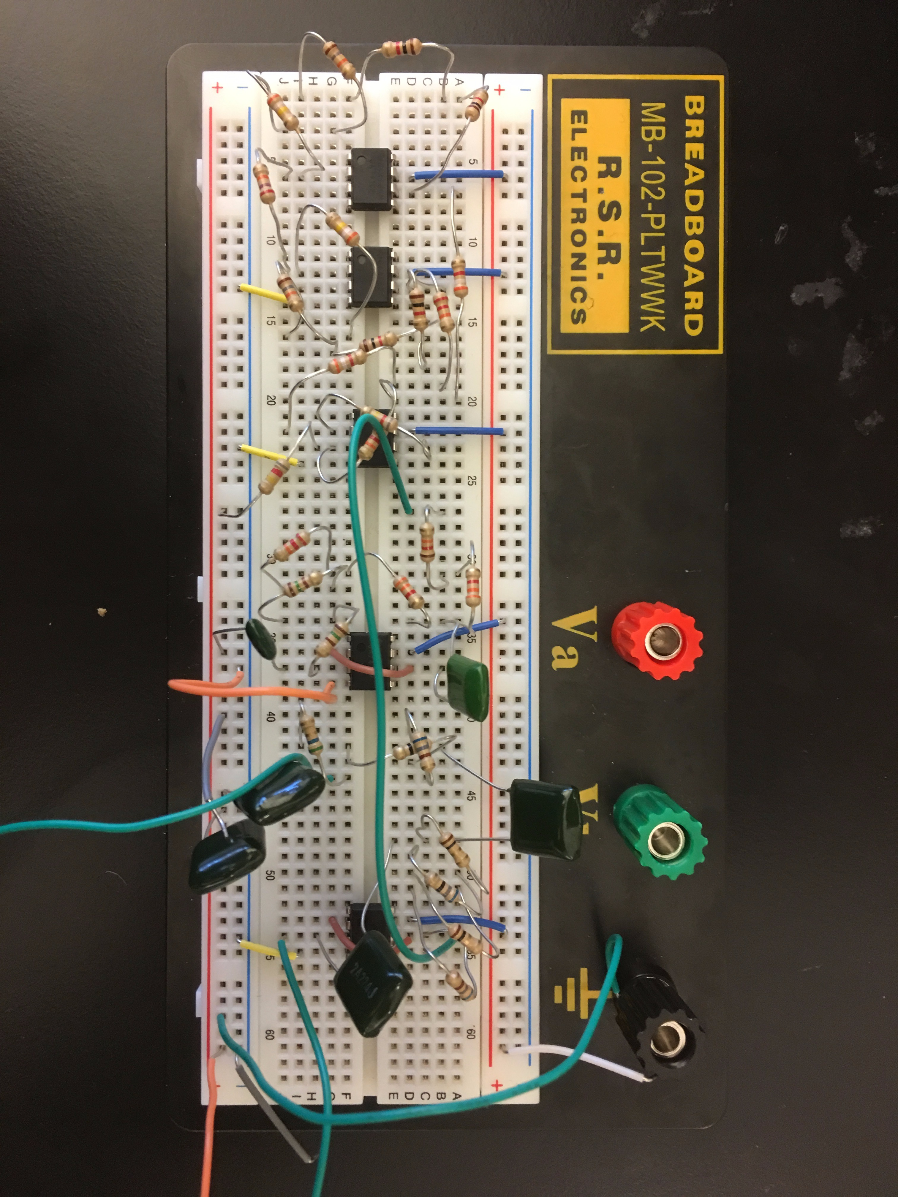 Picture of Build the Physical Circuit on a Breadboard