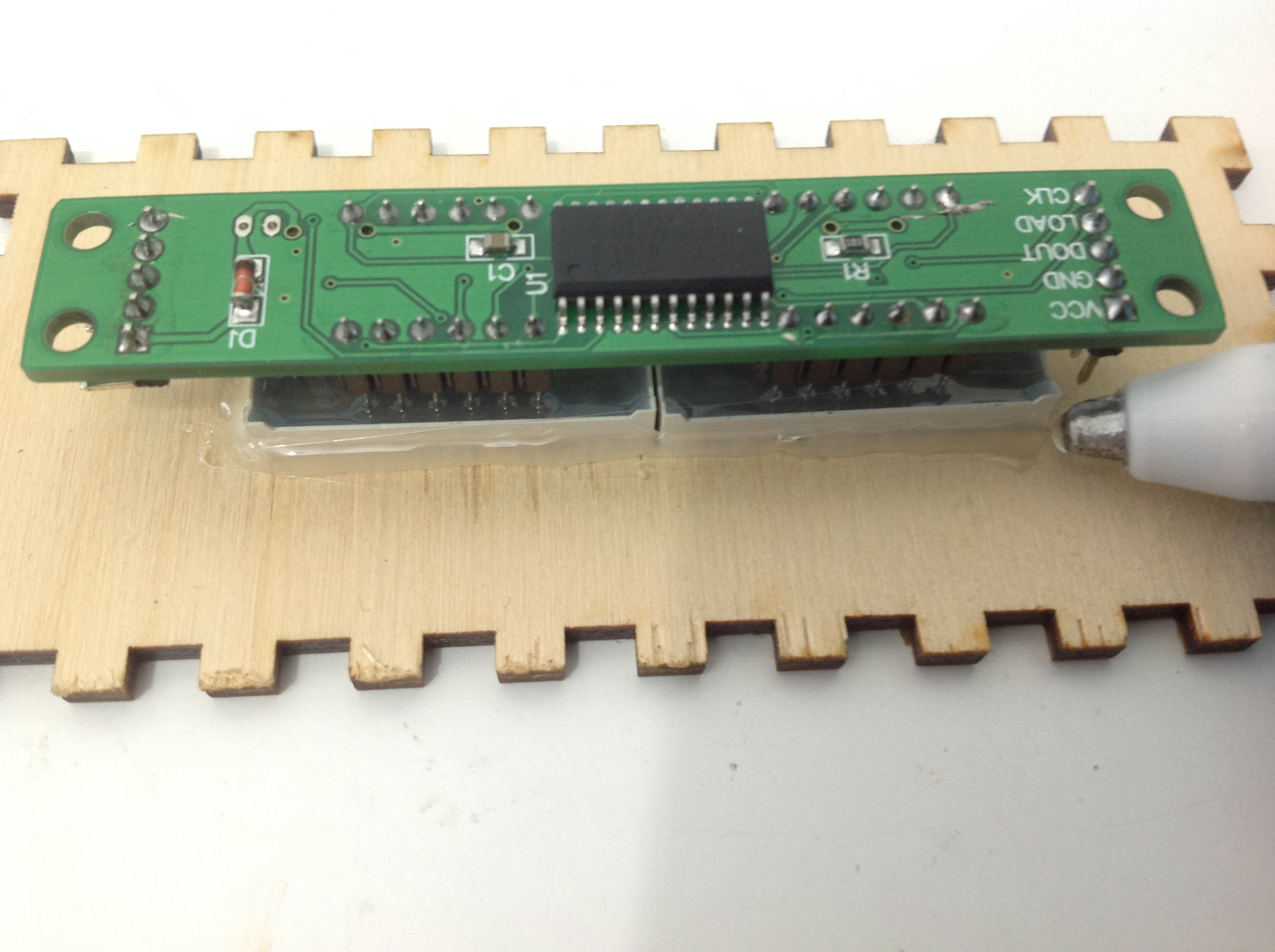 Picture of Mounting the 7 Segment Module
