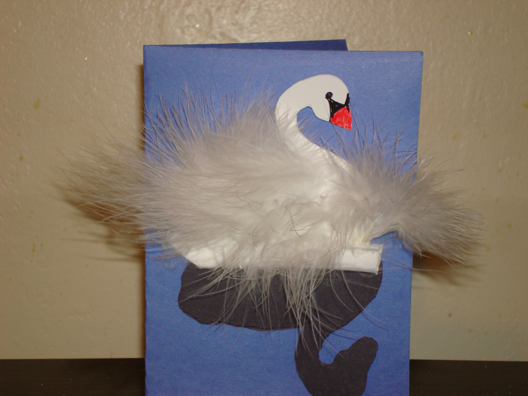 Picture of Swan Wedding Card