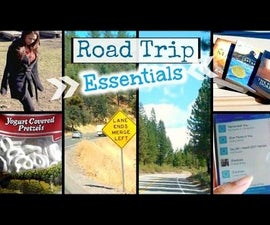 Road Trip Essentials │What to Pack For A Road Trip │ Outfits, Snacks, Books + More