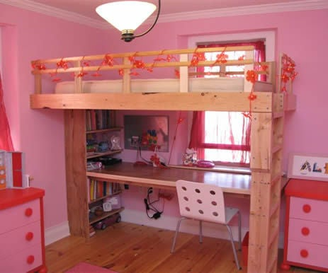 How to Build a Kid's Loft Bed