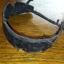 Battle-worn Leather Bracelet