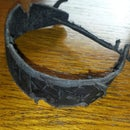 Battle-worn Leather Bracelet