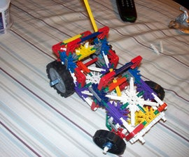 SMALLEST KNEX SUSPENSION TRUCK WITH STEERING