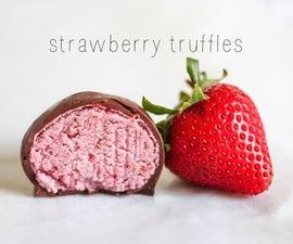 strawberry truffle recipe