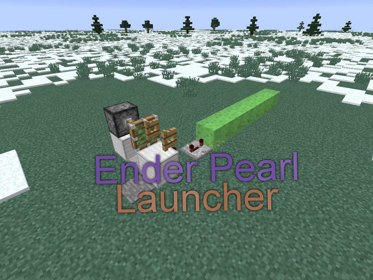 Picture of Minecraft: Ender Pearl Launcher