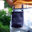 How to Make a Cool Leather Waist Bag