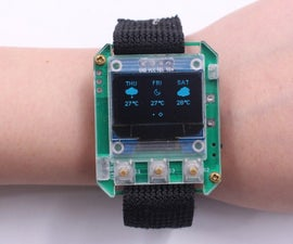 ESPWatch With Weather Forecasting