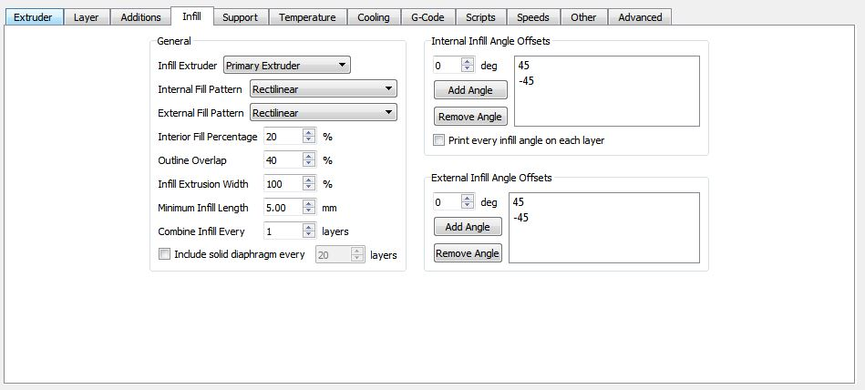 Picture of Simplify3D Settings