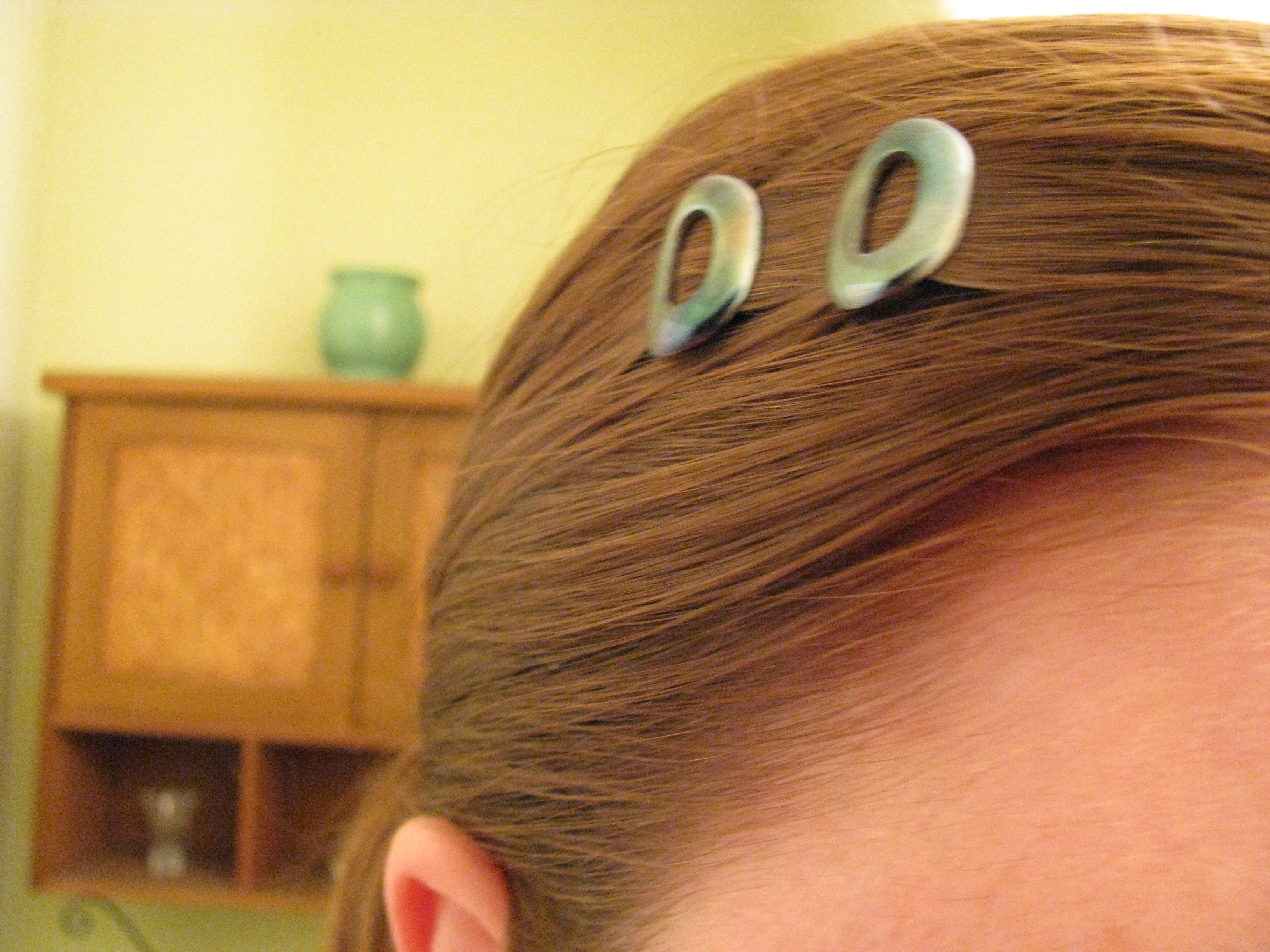 Picture of Blue Steel Barrettes