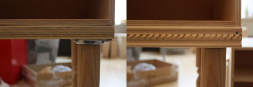 Picture of Trim the Bottom Edge, Let Sit & Sand
