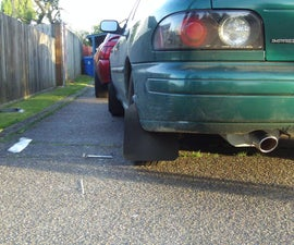Rally Style Polyurethane Mud Flaps for $20