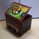Treasure chest-recycled boxes