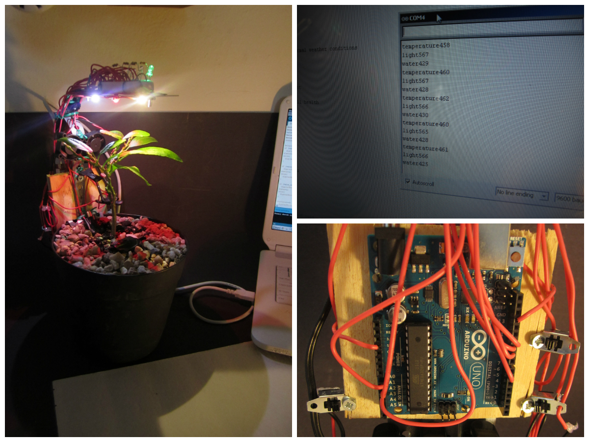 Picture of Arduino + Plant Health Monitor