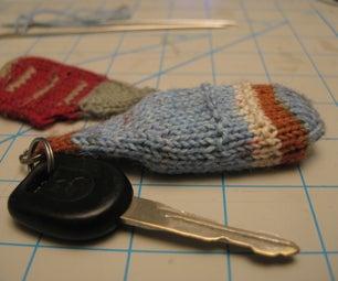 Knit a Key Fob Cosy