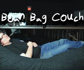 DIY Bean Bag Couch