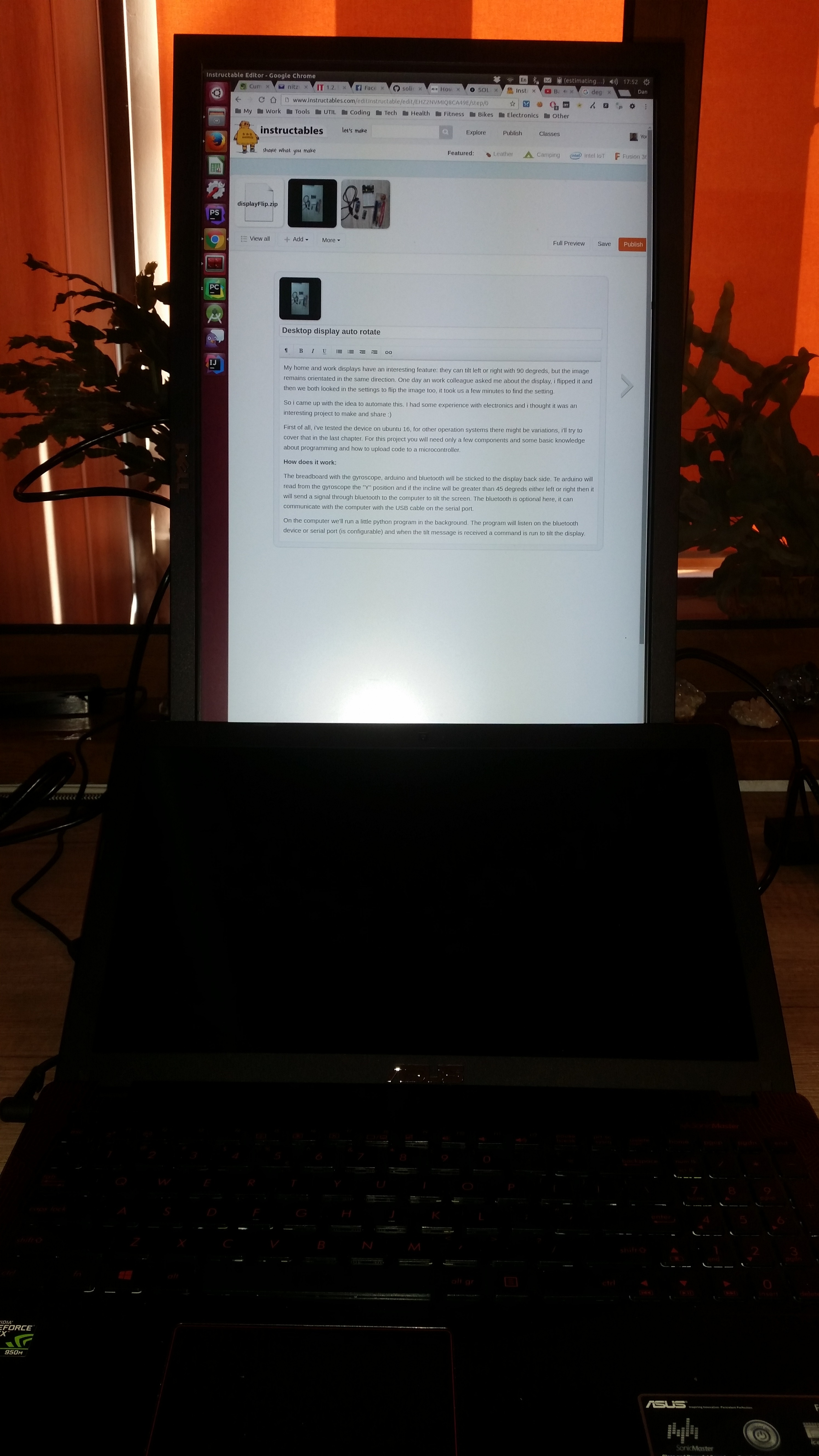 Picture of Desktop Display Auto Rotate