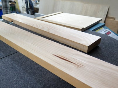 Planer + Jointer (first Edge)