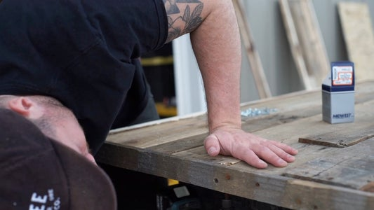 Installing Wood Slats!