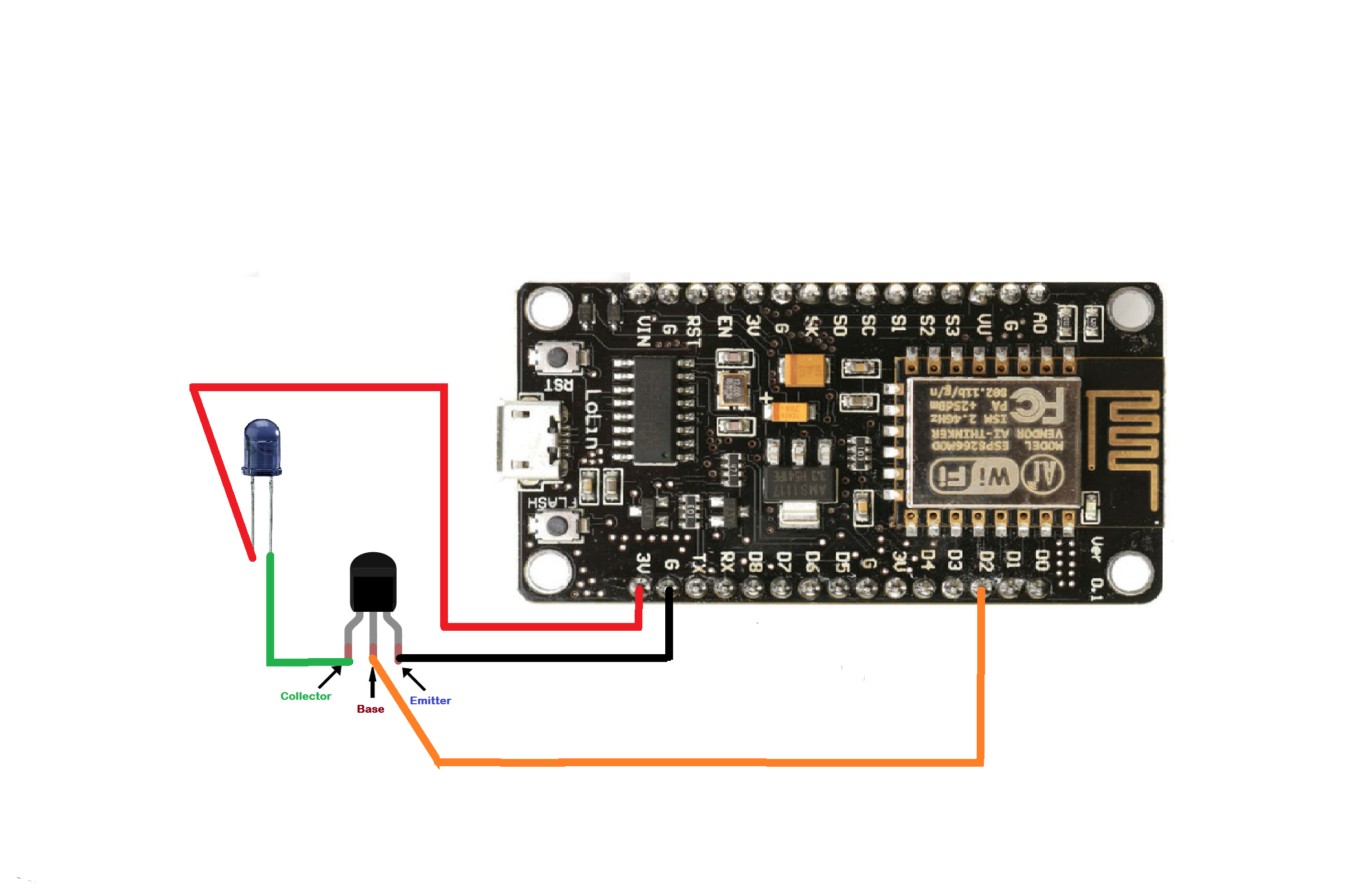 Picture of Universal Remote Using ESP8266(Wifi Controlled)