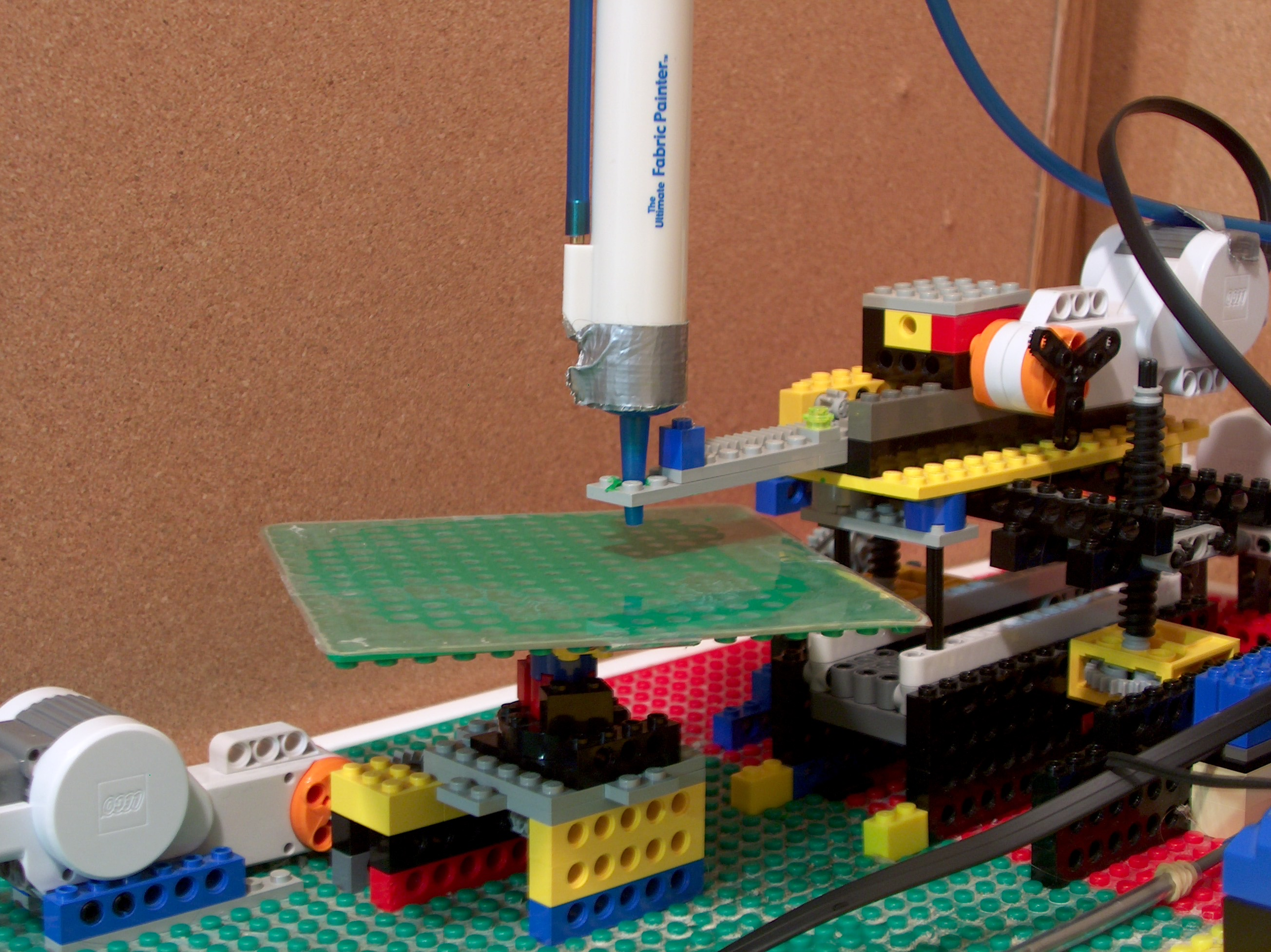 Picture of Build a Polar 3-D Printer From Legos
