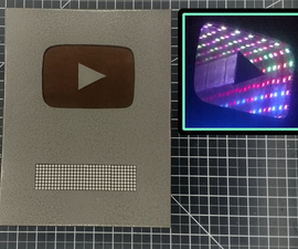 Make an Infinity YouTube Play Button / Subscriber Counter
