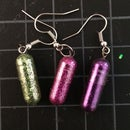 Glitter Capsule Earrings