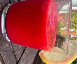 Raspberry Lemonade Fruit Cooler