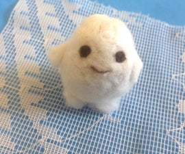 Needle Felted Adipose (Doctor Who) Fat Baby