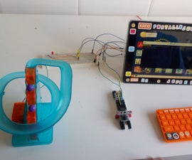Hacking a ball circuit toy with Raspberry Pi