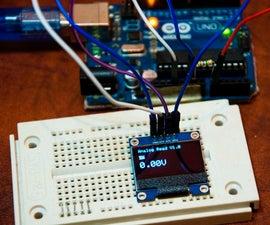Arduino OLED Voltage Meter