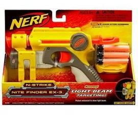 Retrofit a Laser Pointer to a Nitefinder