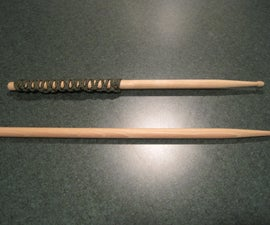 Paracord-Wrapped Drumsticks