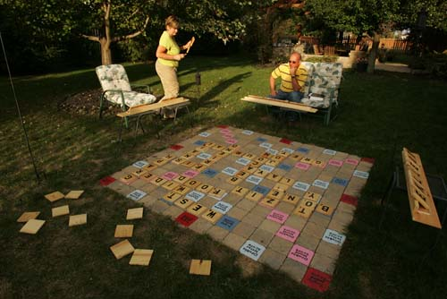 Picture of Gigantic Scrabble