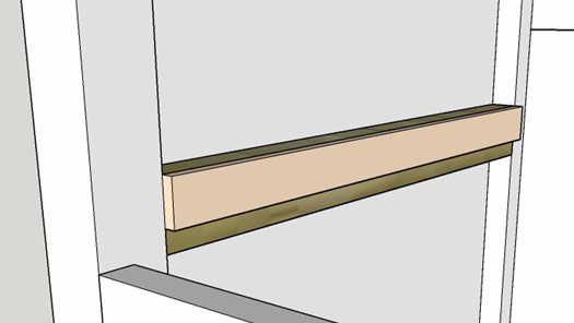 Picture of Fitting the Drawer Rails