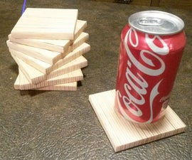 REMIX: Plywood Drink Coasters