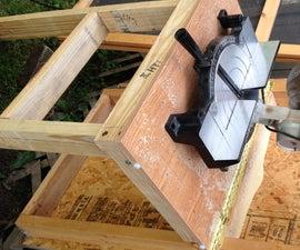 Hidden Door Table (Reclaimed Wood)