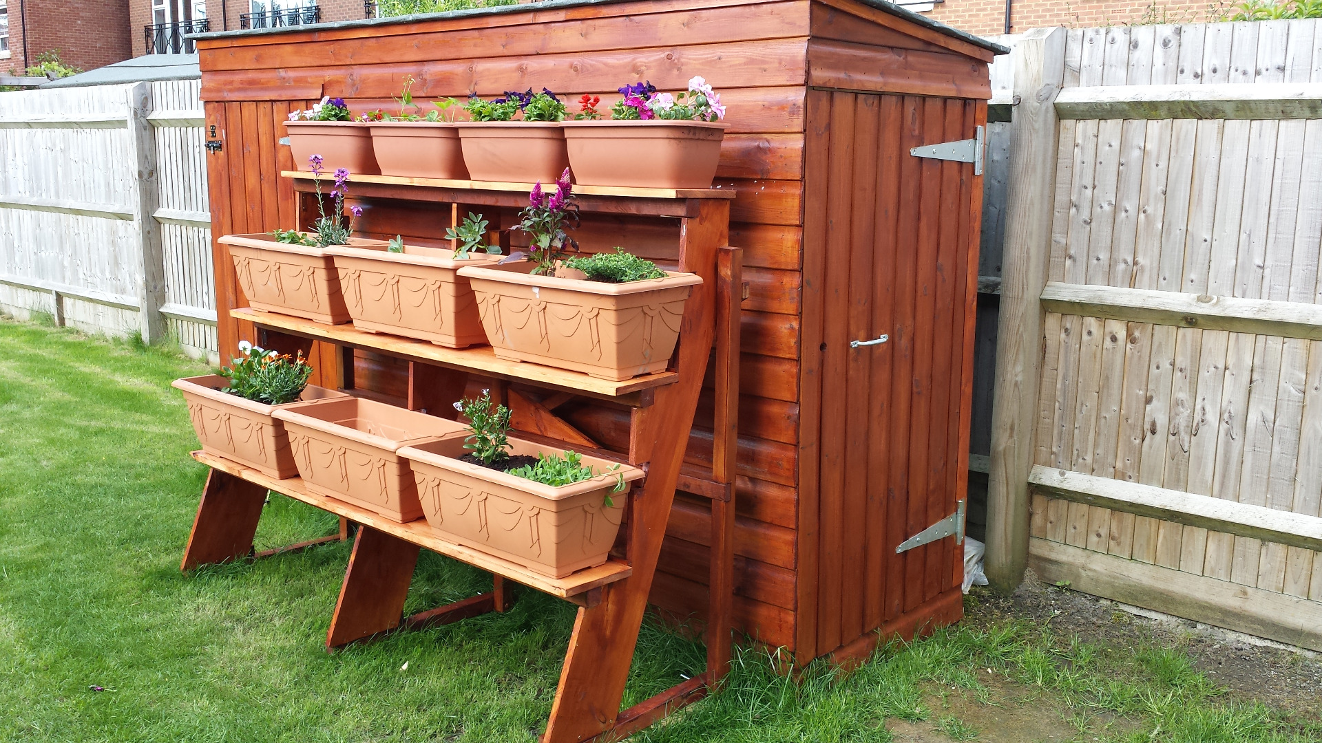 Picture of Stepped Planter