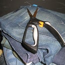 Recycle Denim/Jeans into Reusable parts with no waste.