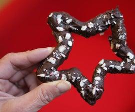 Chocolate Peppermint Pretzels