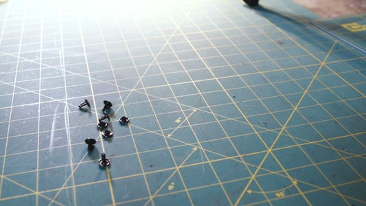 Step 15: Rivets