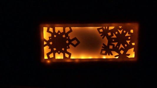 The Snowflake Canvas Light (pt 1)
