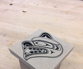 Bent-Wood Box With CNC Carved Lid
