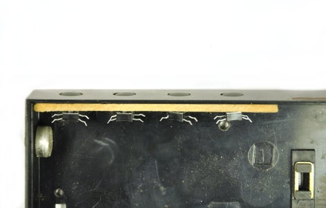 Preparation of the Back Plate