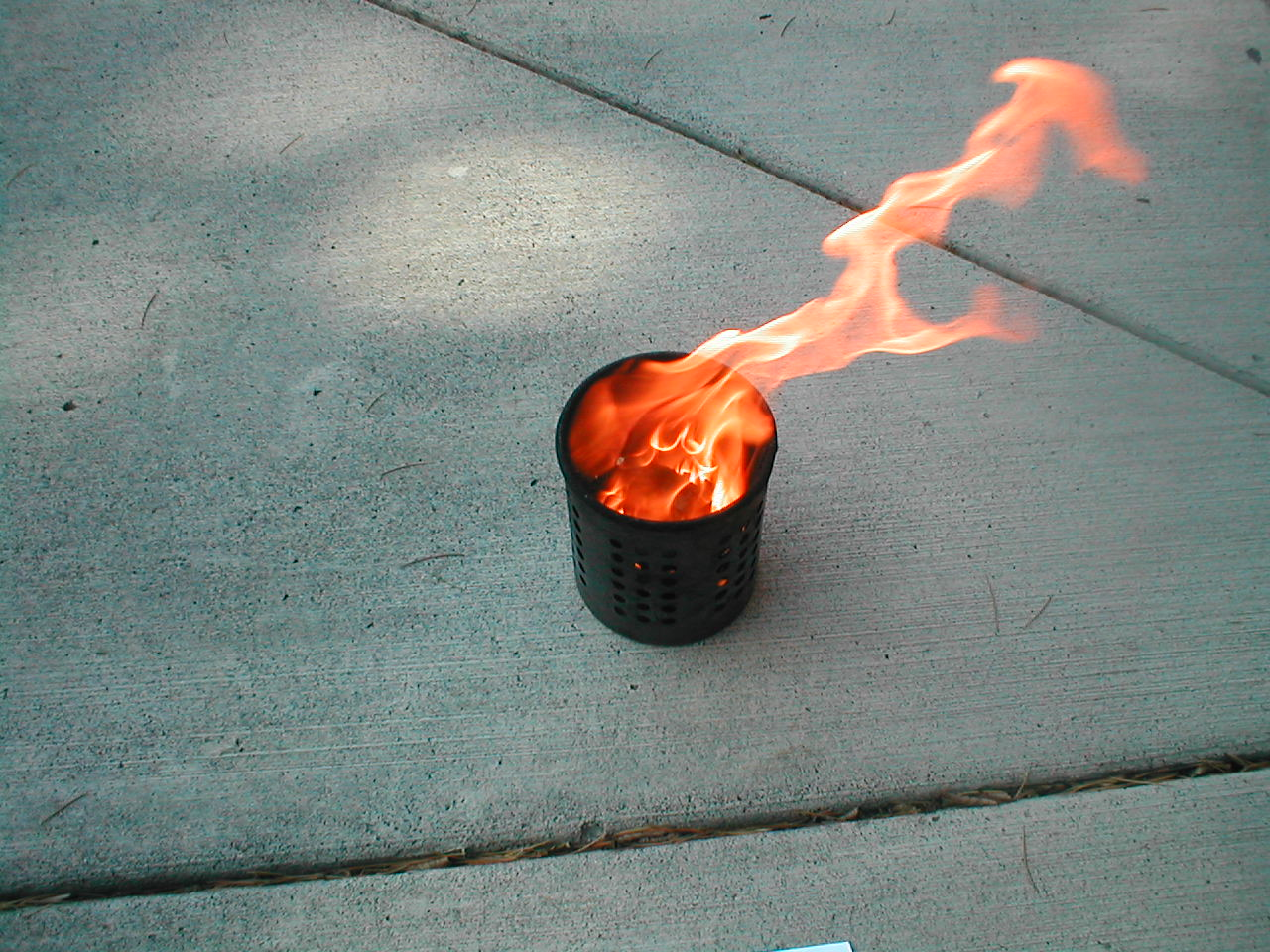 Picture of My Take on the Classic Egg Carton Fire Starter