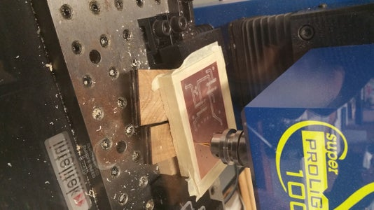 Milling/ Making the Circuit Board