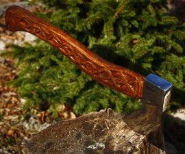 Medieval Viking's Hatchet (Old Axe Renovation)