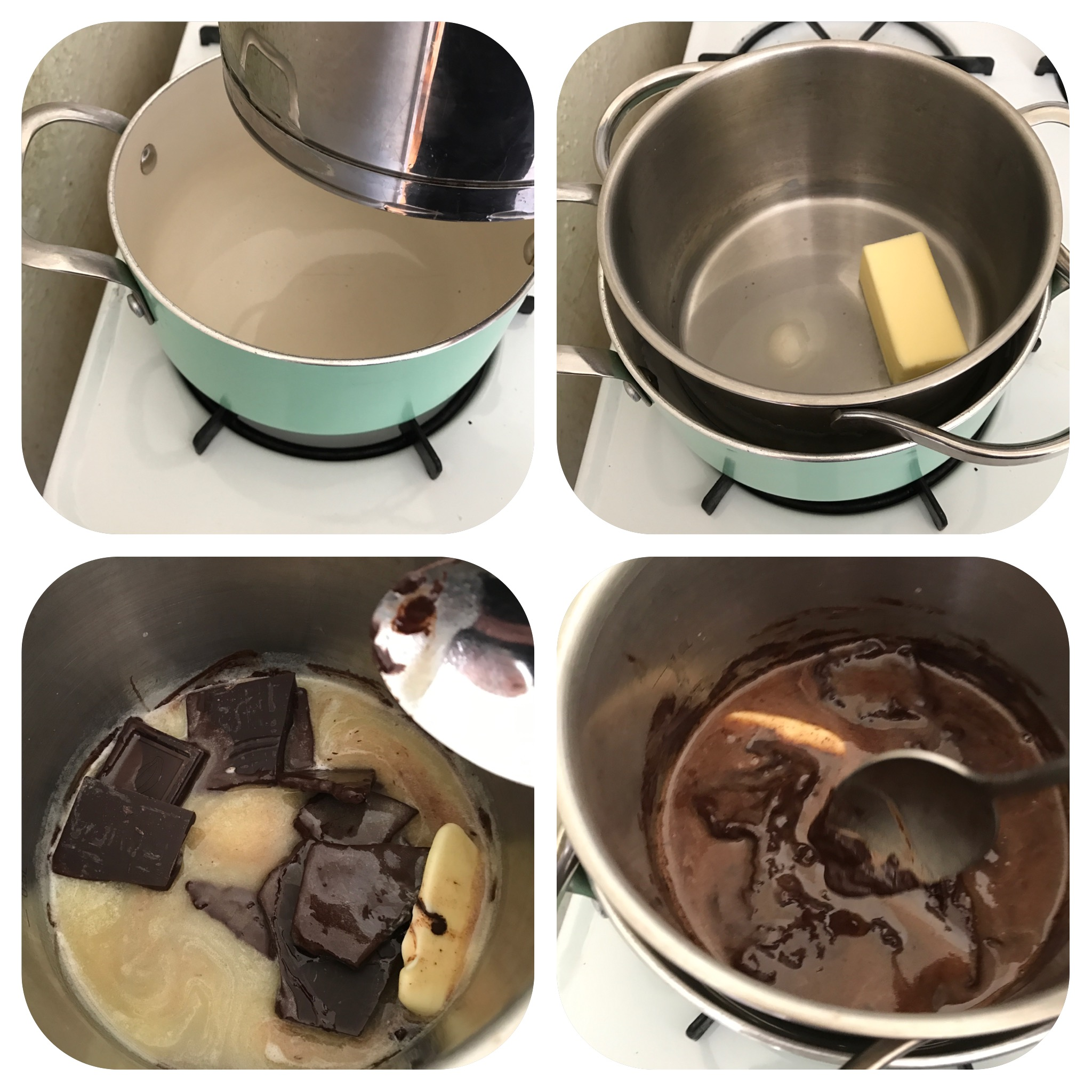 Picture of Making the Chocolate Glaze