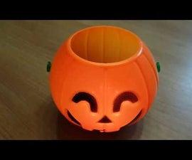 Upcycling Jack-O-Lantern