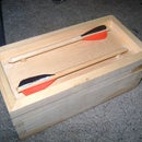 Latest school project - Friction fit lid box
